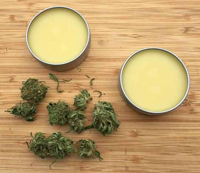 Baume pour la Peau au Cannabis
