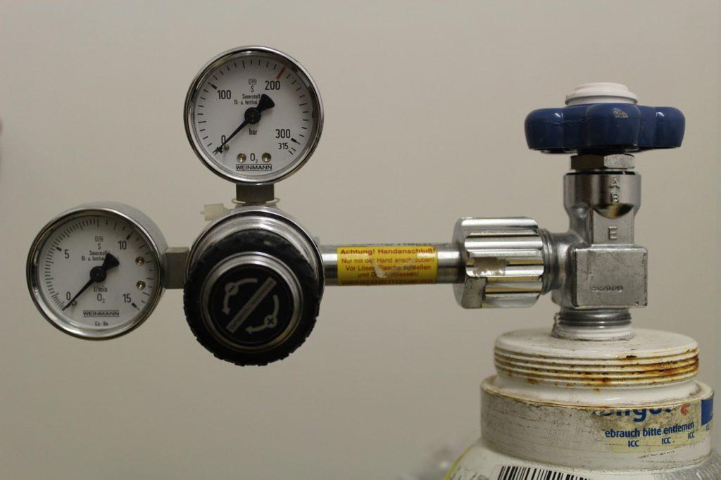 Bouteille de CO2 avec Manomètre pour Culture de Cannabis en Intérieur