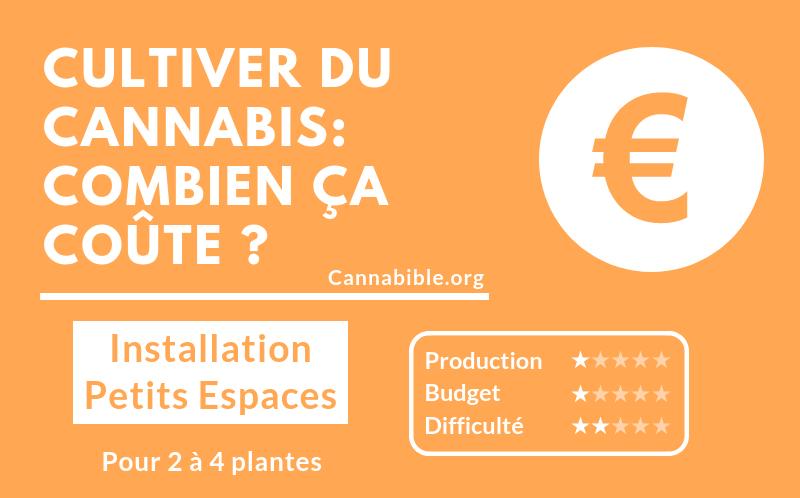 Prix Materiel Culture Cannabis - Installation pour Petit Espace