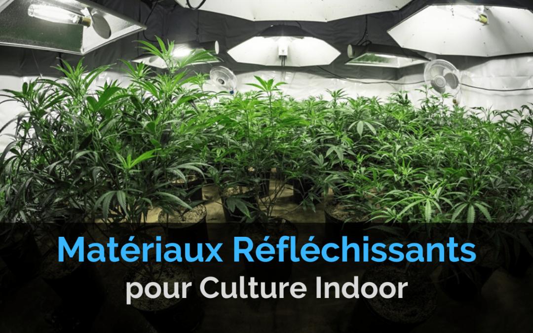 Matériaux Réfléchissants Culture de Cannabis Indoor