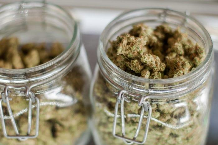 Bocal en Verre pour Conserver votre Weed