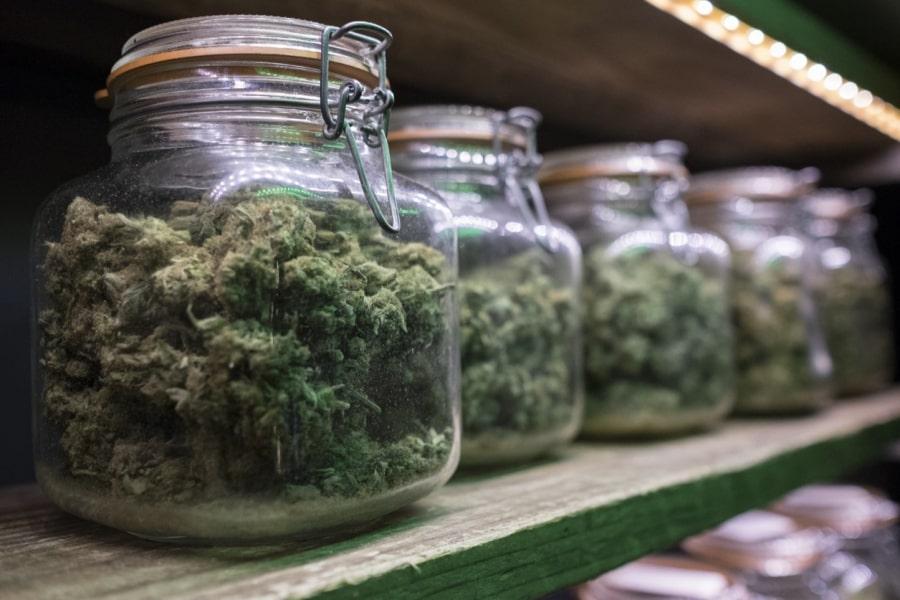 Stcoker et Conserver votre Weed en Pot de Conserve