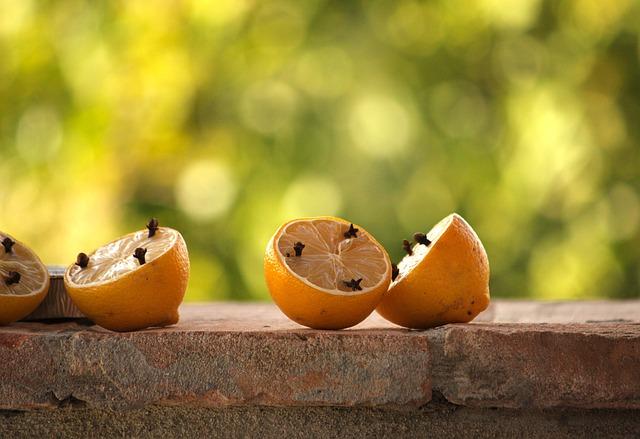 Citrons et Clous de Girofles pour éviter les odeurs en Culture en Intérieur